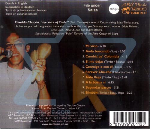 Best of Salsa Afro - Cubana by Osvaldo Chacon