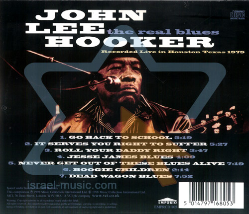 The Real Blues by John Lee Hooker