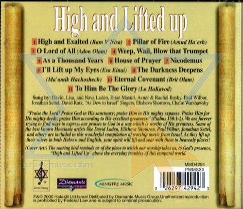High and Lifted Up by Various