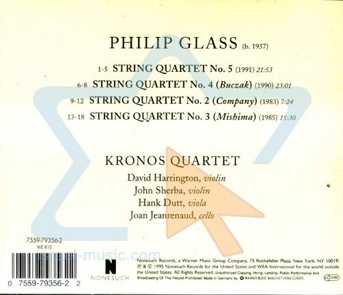 Performes Phillip Glass by Kronos Quartet