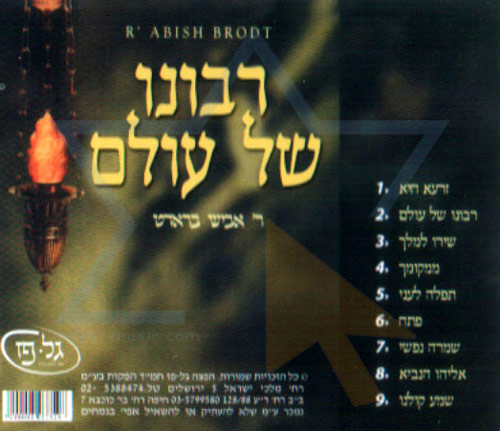 Ribono Shel Olam by The Neginah Orchestra