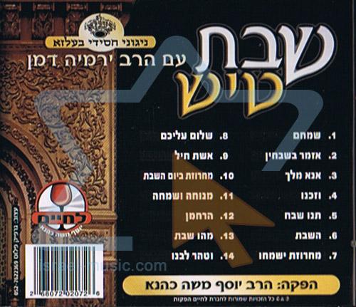 Shabbat Tish by Rabbi Yermie Damen