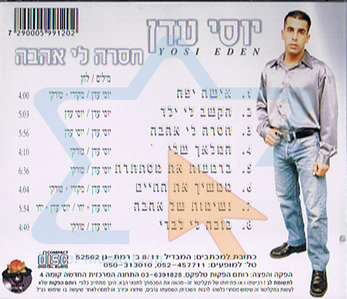 I Miss Love by Yossi Eden