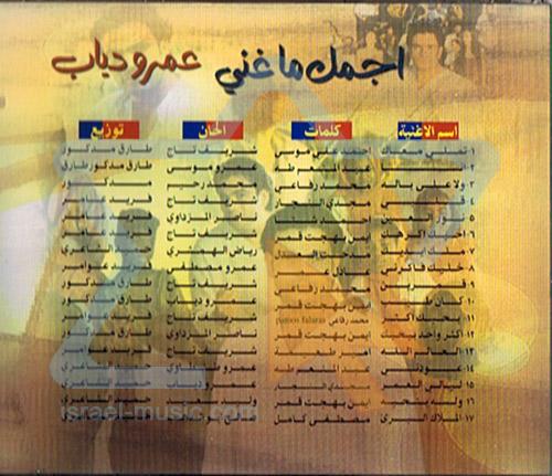 Greatest Hits by Amar Diab