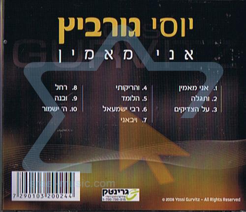 Ani Mamin by Yossi Gurvitz
