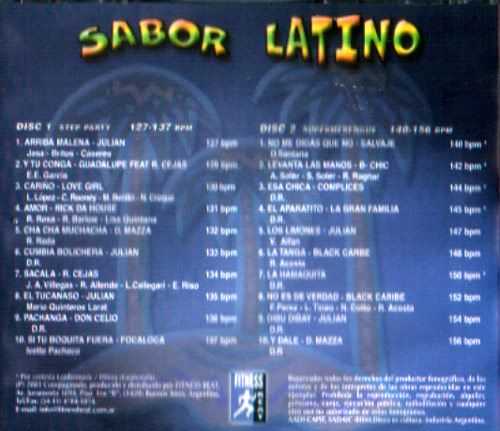 Volume 01 by Sabor Latino