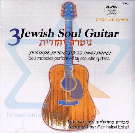 Jewish Soul Guitar 3 Di Meir Halevi Eshel