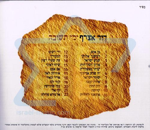 Yemey Tshuva by David Assraf