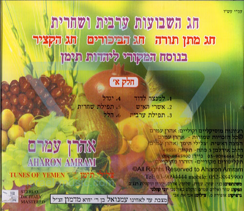 Shavuot - Part 1 by Aharon Amram