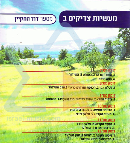Tzadikim Tales - Part 2 by Dovid Ha'chakyan
