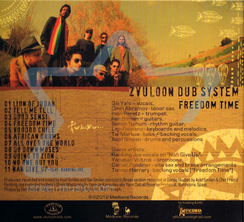 Freedom Time by Zvuloon Dub System