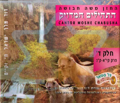 T'hilim - Part 4 by Cantor Moshe Chabusha