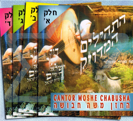 The Complete T'hilim by Cantor Moshe Chabusha
