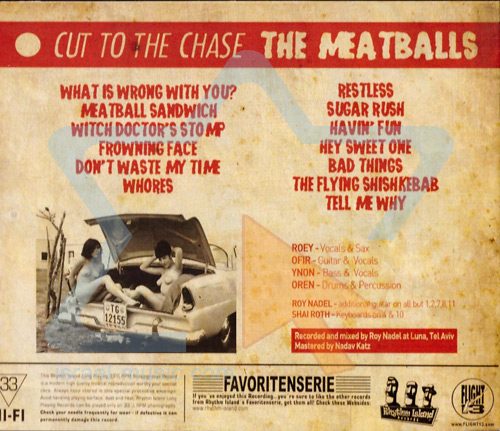 Cut To The Chase - The Meatballs