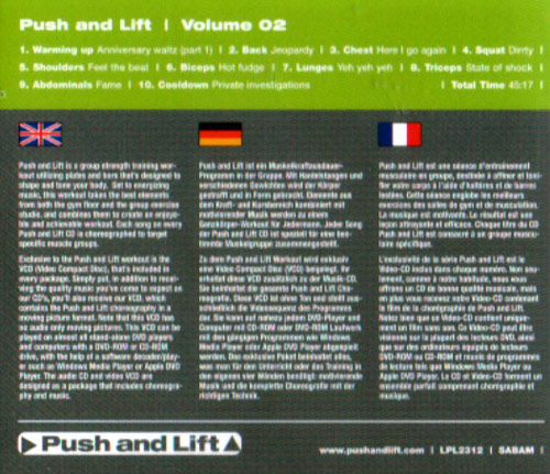Volume 02 by Push and Lift