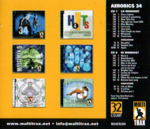 Volume 34 by Aerobics