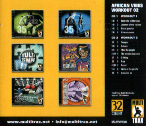 Volume 02 by African Vibes Workout