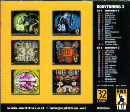 Bodytoning - Volume 3 by Various