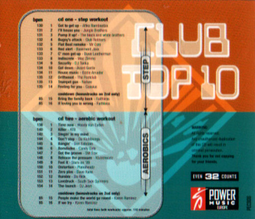 Volume 01 by Club Top 10