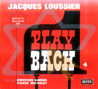 Play Bach - Vol. 4 by Jacques Loussier