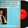 Cantorial Masterpices And Jewish Songs by Cantor Nachum Malik