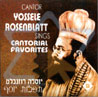 Cantorial Favorites By Cantor Yossele Rosenblatt