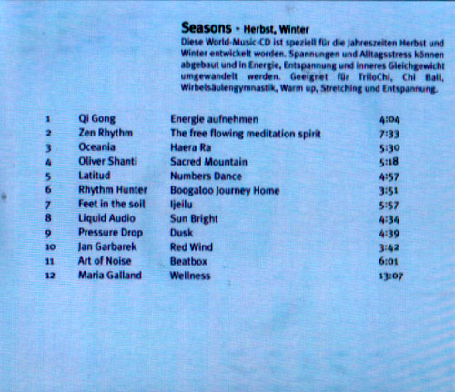 Volume 5 - Seasons by TriloChi